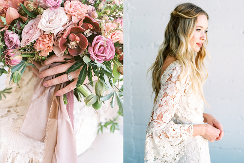Featured in The Southern California Bride!